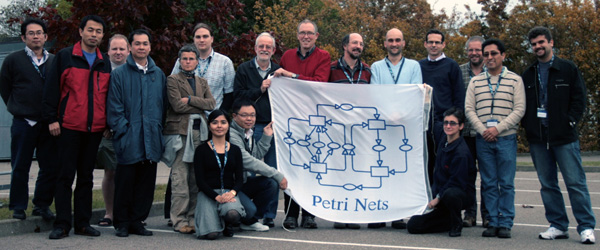 Participants at the 10th CPN Workshop (sans Daniel Moldt)